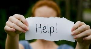 Be om hjälp