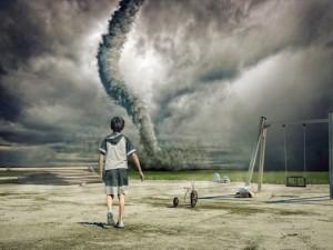Hjältar, tornados och helande kramar