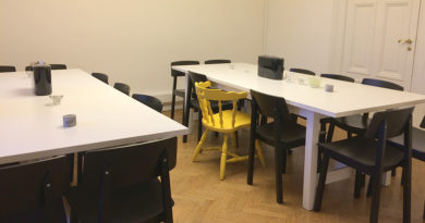 Den gula stolen av Annika Melin